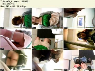 VIP KAWA toilet 3 cameras Vol.04