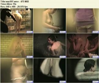 露天風呂 wac097