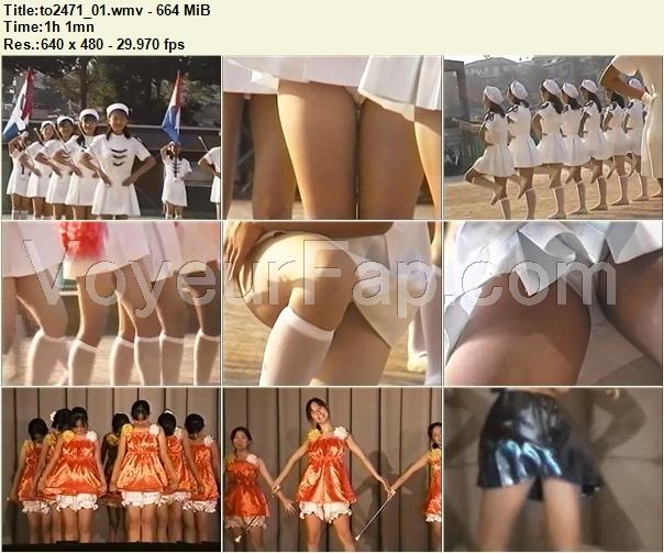 Cheerleaders Candid to2471_01