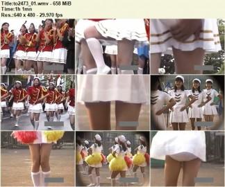 Cheerleaders Candid to2473_01