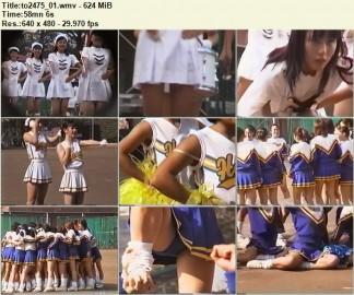 Cheerleaders Candid to2475_01