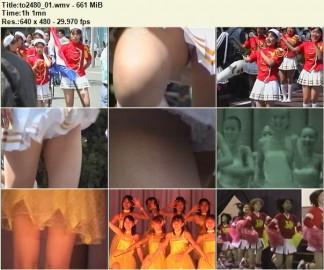 Cheerleaders Candid to2480_01