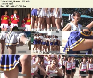 Cheerleaders Candid to2486_01