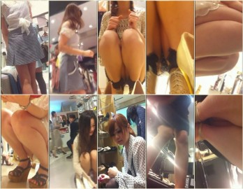Upskirts in Shopping Mall ap13-15