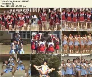 Cheerleaders Candid to2499_01 – to2502_01