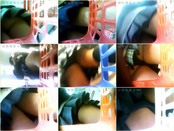 制服女子専門Pチラ!_くらまさんの_制服の中身はバスケットプライス, Peeping-Eyes Upskirt Voyeur, japanese upskirts, asian teen girls under skirt