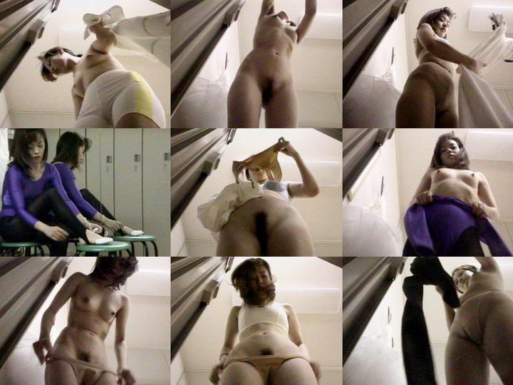 名古屋市有名バレエ教室盗撮,  1919gogo changing room voyeur, peeping 1919gogo
