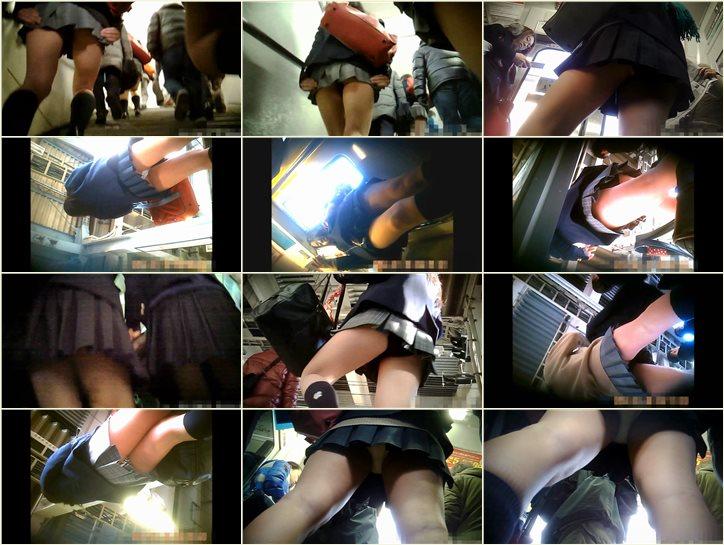 通学Pチラ_通勤快撮さんの_CHUCHUトレイン , peeping-eyes upskirt voyeur, japanese upskirts, asian teen girls under skirt, パンチラ盗撮, 日本人パンチラ, スカートの下でアジアの十代の少女