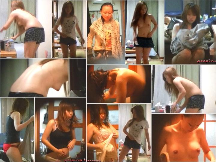 独占配信!!NEWキャンパス周辺アパートを張込み!女子大生達の性態日記 ハイビジョン, bath voyeur, locker room voyeur, hidden camera bathhouse, peeping-holes , peeping-holes kyanpas