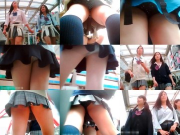 制服美少女専門!TRYKさんの密着!ストーキングPチラ File.01-07