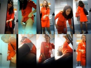AirAsia airport toilet voyeur