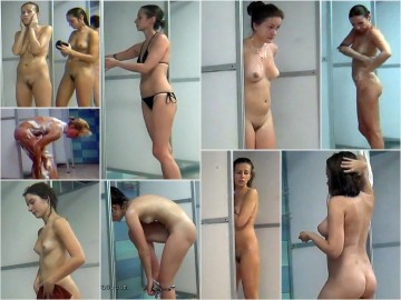 Hidden Camera Public Shower 1 – 4