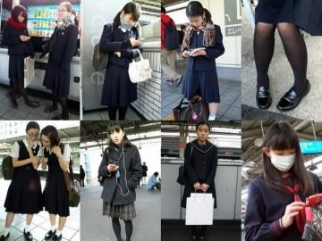 有名なお嬢様女子kに通う真面目J系を追跡pちら。大量写真集 ton273_1