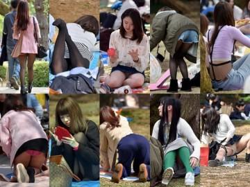 digi-tents man469 満開☆お花見でおパンツも丸見えほろ酔い女子たちをナマ激写!
