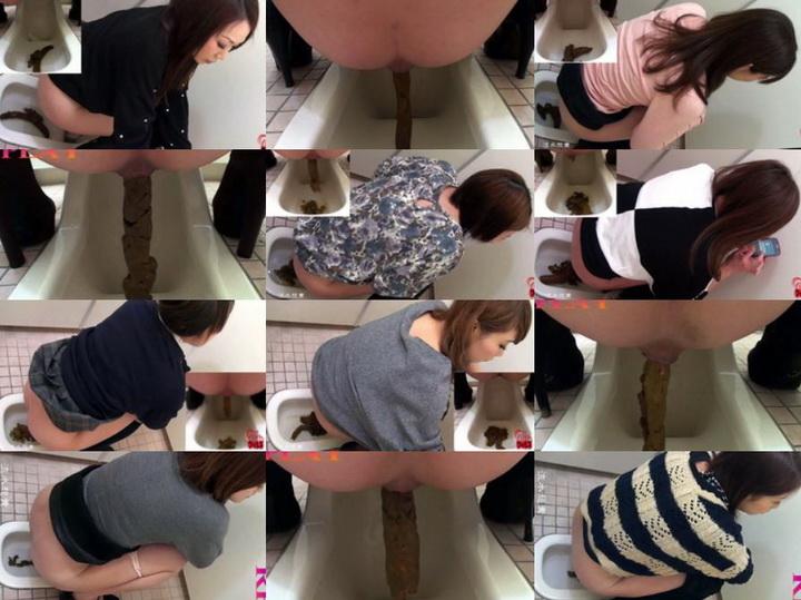 FF-012 最も新しい作品 トイレットスカート Defecation Toilet Skirt HD