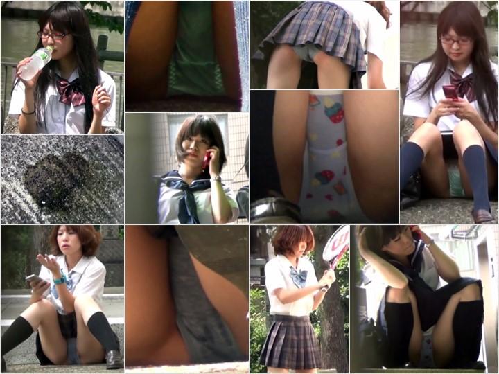 VoyeurJapanTV vjt_20981_2-def-1 SPORTY GIRLS, SWEATY PANTIES