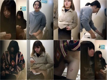 おトイレシリーズ3, こっそり撮られたトイレ映像