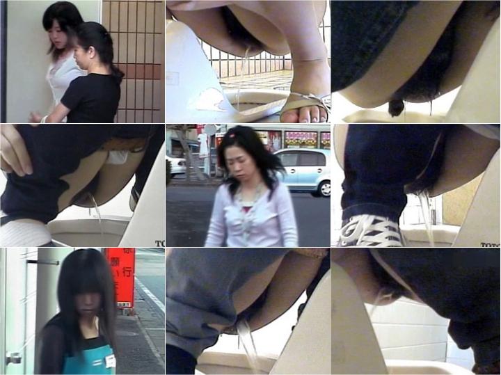 15263852 【お宝発見】商業施設内和式公衆トイレ♡電波受信盗撮◆トイレ前~車待機録画★ 02