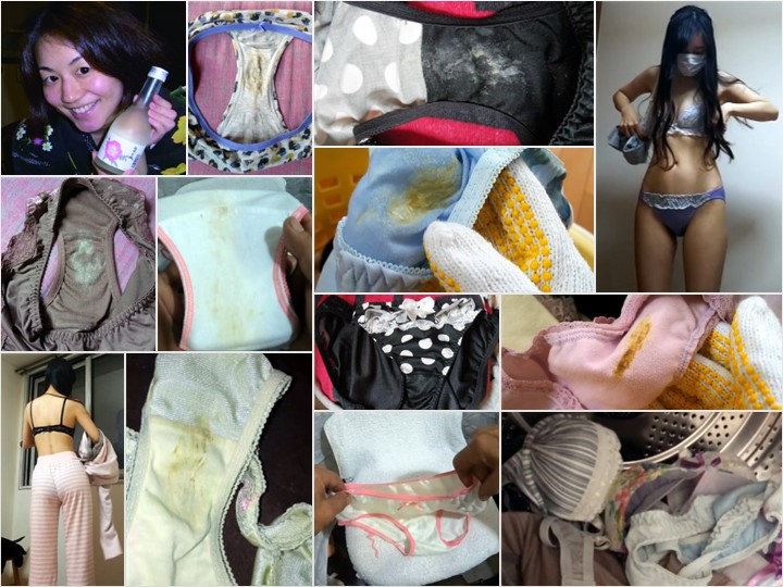 PantySpy_1 女子大生の染み付きパンツ3種画像無料サービス, 美人お姉さんの洗濯機の中をチェック?, s/cのパンツで4545♥, 興奮間違いナシ!着用姿も盗撮してその汚れた下着を漁る!