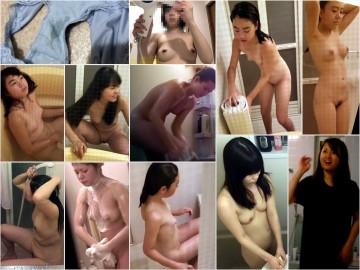 digi-tents 魅力的な熟女の入浴。膝を立てオ○ンコにシャワーを長めに当てています