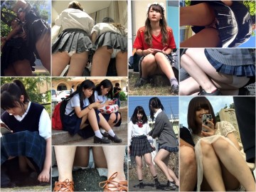 digi-tents upskirt 制服女子のパンチラ盗撮動画6動画連結HD版