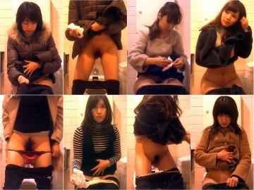 【レア】某デパート★これはスゴい!! お買い物途中の生々しい記録♥女子トイレ盗撮♥ 02