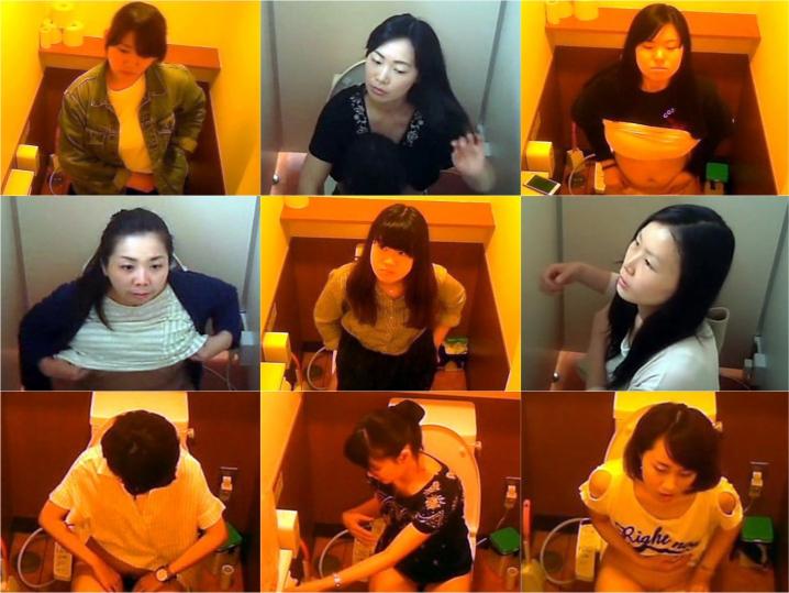 15374360 洋式トイレ盗撮、女のオアシス(OL~熟女)