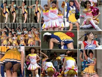 Gcolle Cheer 【高画質FHD】コンペティションチア-バックショット