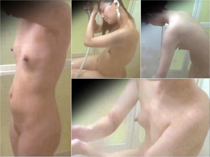 ksto008_00 【しのび盗撮 禁断の民家浴室 8】ちっぱいお腹ぽっこりお姉さん