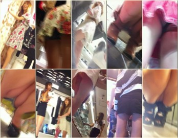 Upskirts in Shopping Mall ap01-03