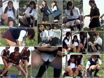 PissJapanTV Schoolgirls Pissing