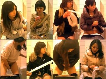 Peeping-Eyes キャロルさんのハイビジョン トイレ盗撮!熟女編 File.004-006