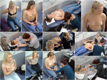 Piercing salon Hidden Camera 1-4