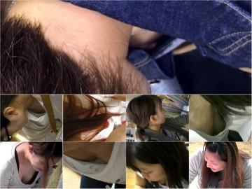 美人若ママ 豊満な胸チラとパンチラと授乳〜動画〜
