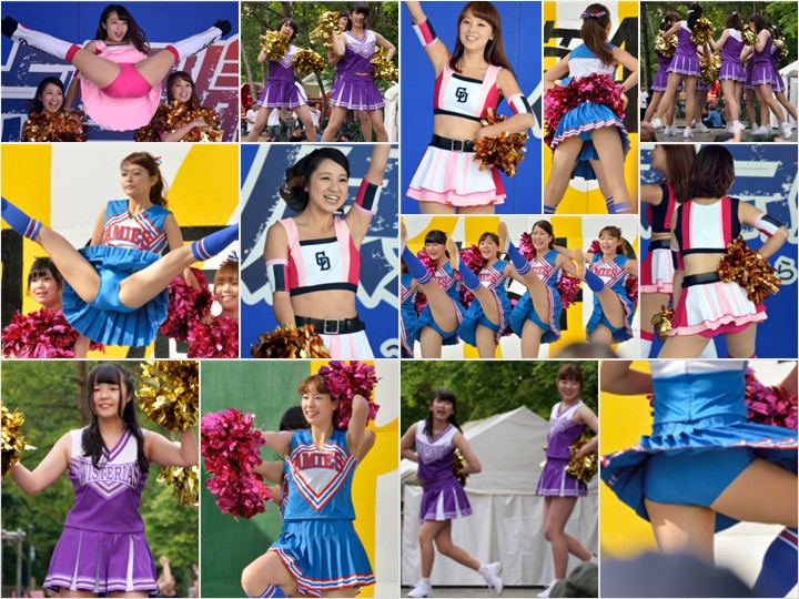 Gcolle_Cheer_198 CHEER Collection a15, 【76枚・高画質】野球チアガールAF③