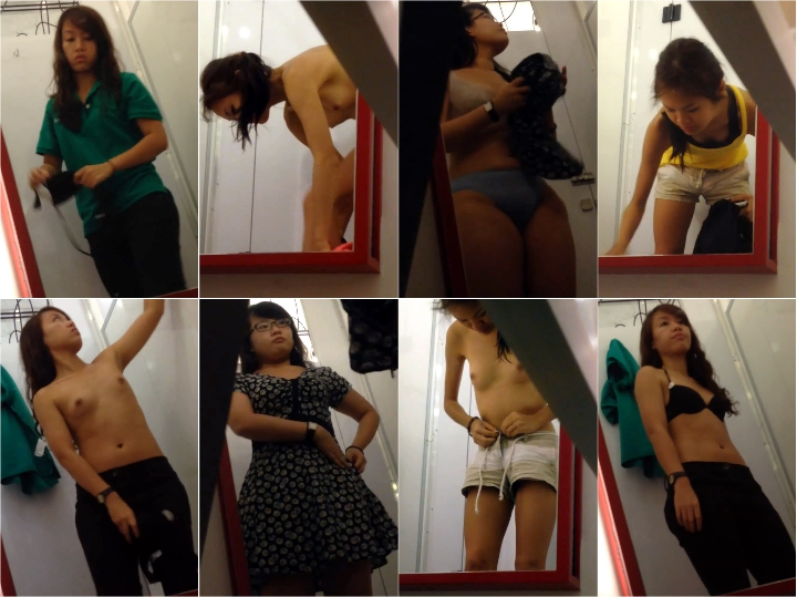 Asian changing room 15