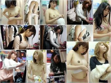 長身スレンダーで、平○梨似のS級美女が魅せた、、、妊婦姿!!   僕のお店の試着室