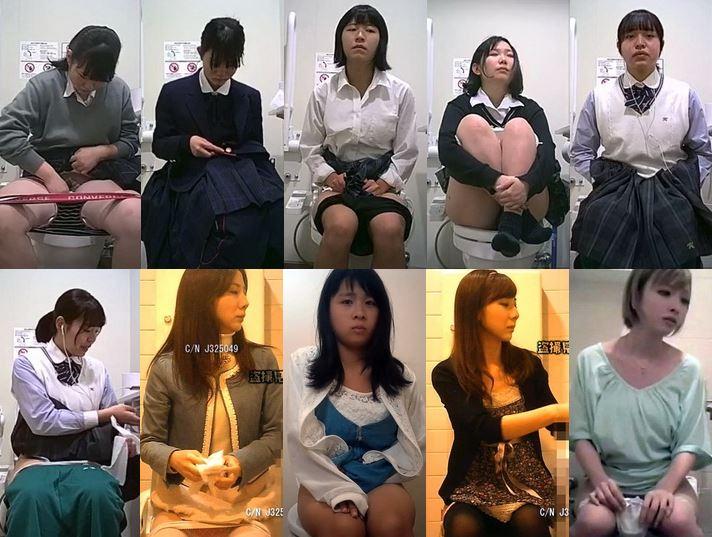 digi-tents_toilet_106 H様 , 「トイレ盗撮」まさかのジュニアアイドル?, 清楚系茶髪女子の洋式トイレ