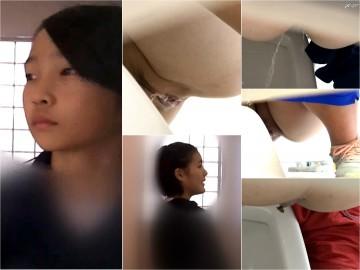 超高画質/高画質 kcsのトイレ盗撮5本
