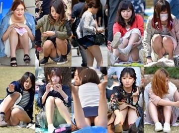 Pチラ☆ガールズ♪, 無印悪品のRe:001 駅女子 Vol.311−315セッ