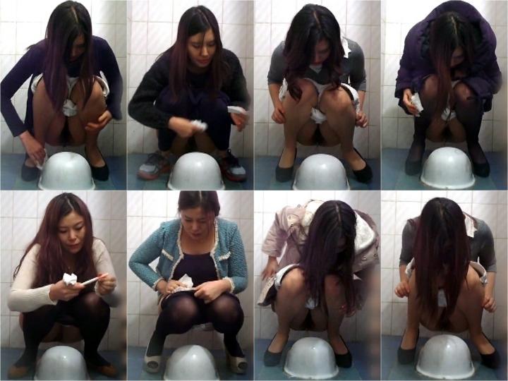 15380809 無修正 和式正面トイレ盗撮